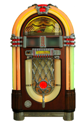 Ein Bild einer Jukebox