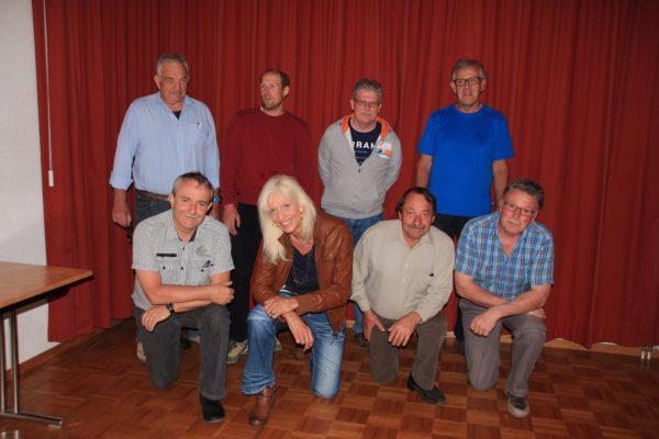 Koner Götz, Andreas Hofer, Urs Baumgartner, Bruno Röthlisberger, Ueli Brack, Evelyne Leutwyler, Hermann Brack, Heinrich Brack