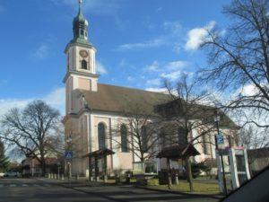 Ein Bild von der Kirche Hilzingen.